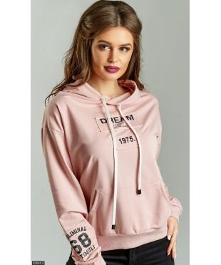 Батник 62834-2             розовый                                                 Весна 2018                         Турция