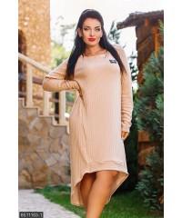 Платье 8511163-1             бежевый                                                 Осень 2016                         Украина