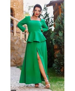 Платье 8511184-2             зеленый                                                 Осень- Зима 2016                         Украина