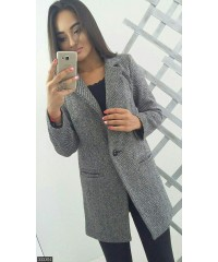 Пальто 333304             серый                                                 Весна 2018                         Украина