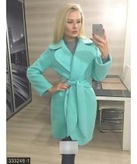 Пальто 333246-1             ментоловый                                                 Осень 2016                         Украина