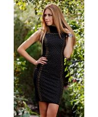 Платье 432699-2             черный                                                 Зима 2016                         Турция