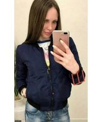 Бомбер 333429-1             темно-синий                                                                         Зима 2017                         Украина