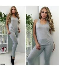 Лосины 450047-3             серый                                                 Лето-Осень 2017                         Украина