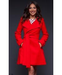 Пальто 333210-1             красный                                                 Осень-Зима 2016                         Украина