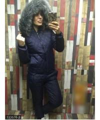 Костюм 333576-2             синий                                                                         Зима 2017                         Украина