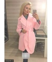 Пальто 333246-3             розовый                                                 Осень 2016                         Украина