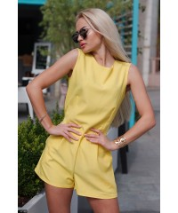 Комбинезон 55148             желтый                     коралловый                     ментоловый                     черный                     электрик                                                 Весна 2016