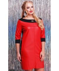 Платье 8511204-3             красный                                                                     Осень 2016                         Украина