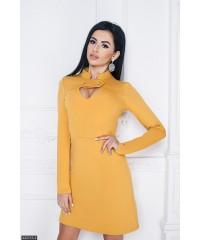 Платье 432713-2             горчица                                                 Зима 2017                         Украина