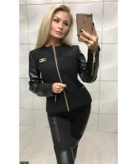 Куртка 333362-3             черный                                                                     Лето-Осень 2017                         Украина