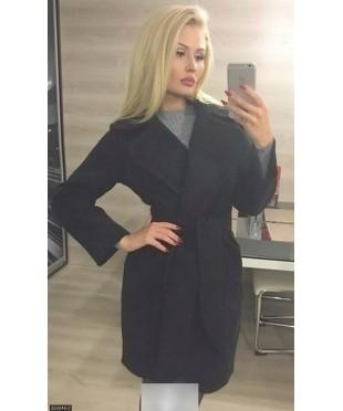 Пальто 333246-2             черный                                                 Осень 2016                         Украина