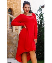 Платье 8511163-21             красный                                                 Осень 2016                         Украина