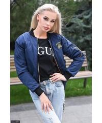 Бомбер 333458-4             синий                                                                         Осень-Зима 2017                         Украина