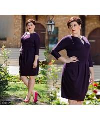Платье 1006-2             баклажановый                                                 Осень-Зима 2015                         Украина