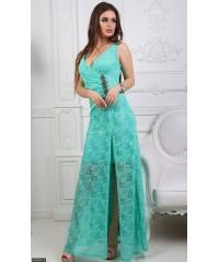Платье 435342-3             ментоловый                                                                     Весна 2018                         Украина