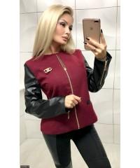 Куртка 333362-4             бордо                                                                     Лето-Осень 2017                         Украина