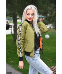 Бомбер 333457-4             оливковый                                                                         Осень-Зима 2017                         Украина